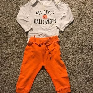 Old Navy My First Halloween 12/18 Month outfit.